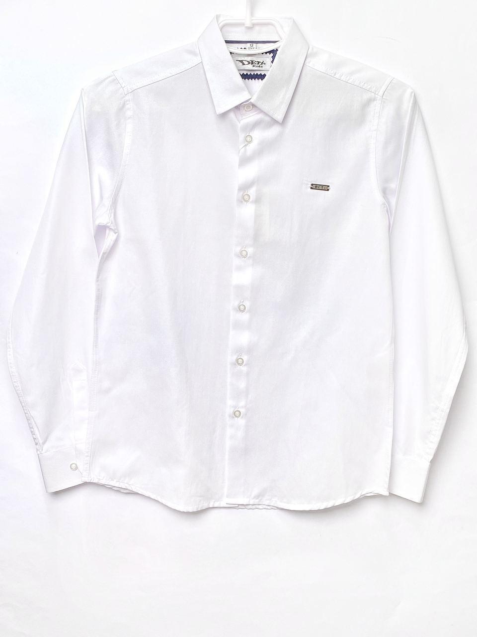 Белая рубашка для мальчика, размеры 11, 12, 14 л.