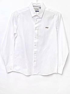Біла сорочка для хлопчика, розміри 11, 12, 14 л.