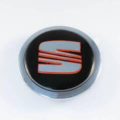 Колпачки в легкосплавные диски Seat (60 мм)