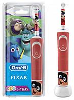 Дитяча електрична зубна щітка Oral-B Kids Найпопулярніші Герої Pixar 3+