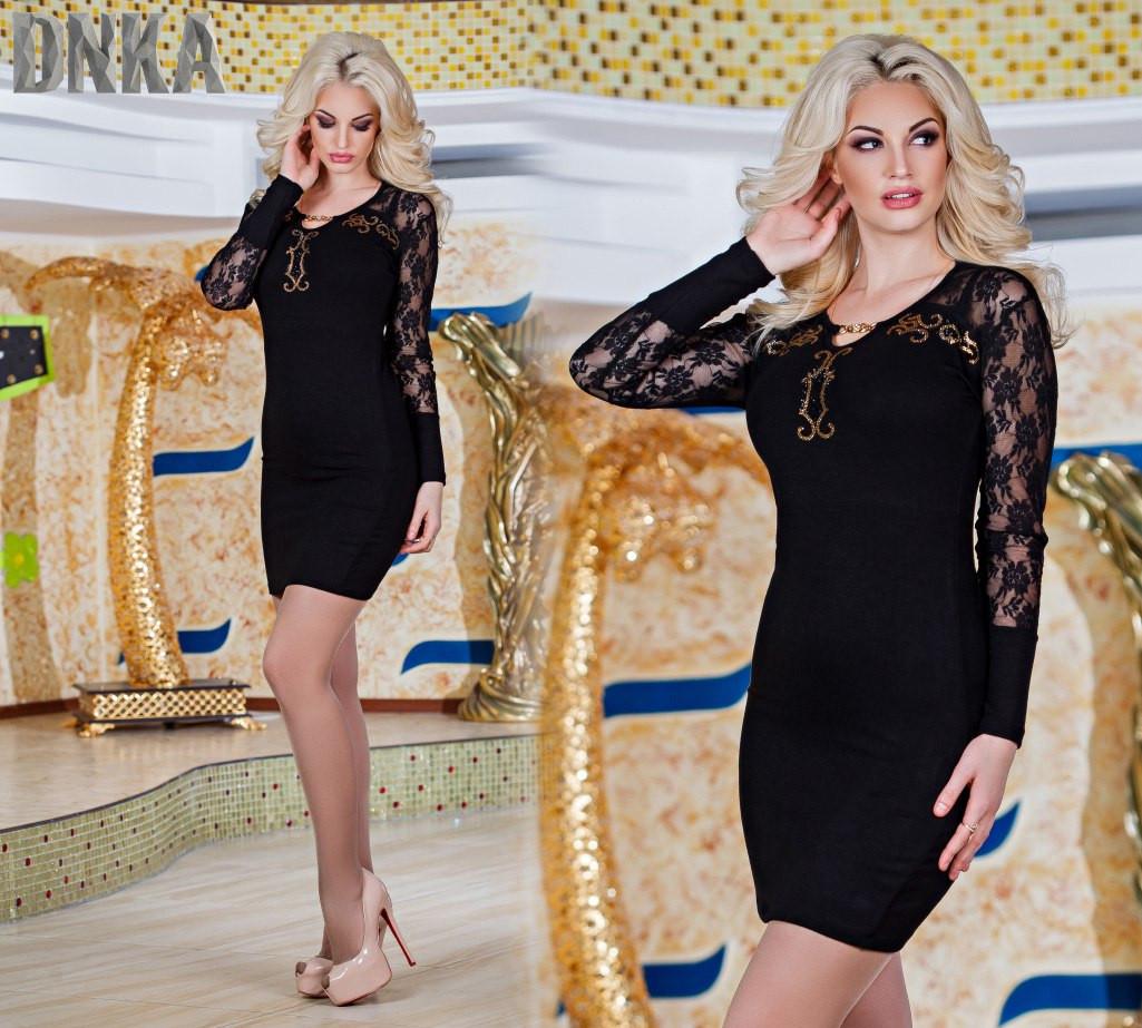 Платье с камнем