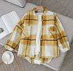 """Жіноча тепла сорочка в клітку """"Elba"""" В І, фото 3"""