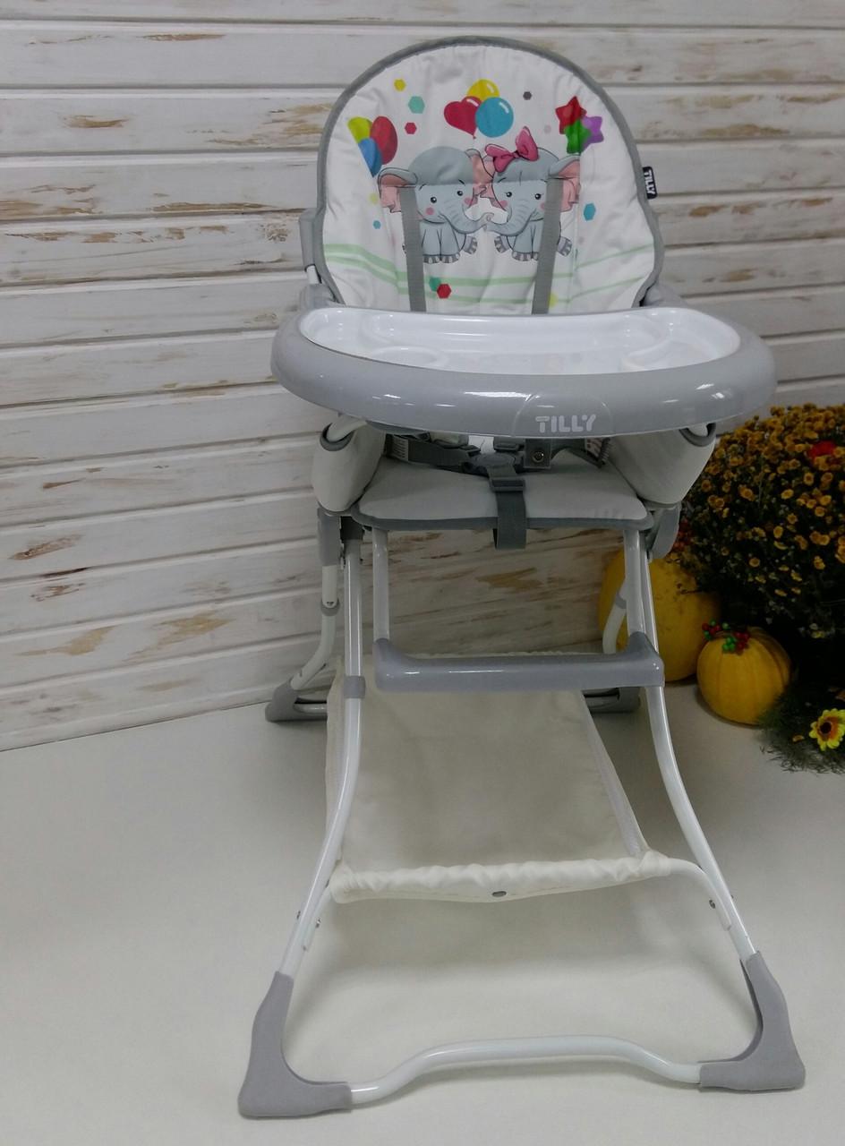 Дитячий стільчик для годування TILLY Buddy T-633/1 Слоники