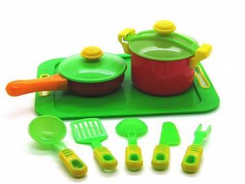 Набір посуду 11предм.з підносом №04-427 /Кіндер Вей/(6)