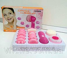 Массажер для лица Face Massager CNAIER АЕ-8781 -12 насадок