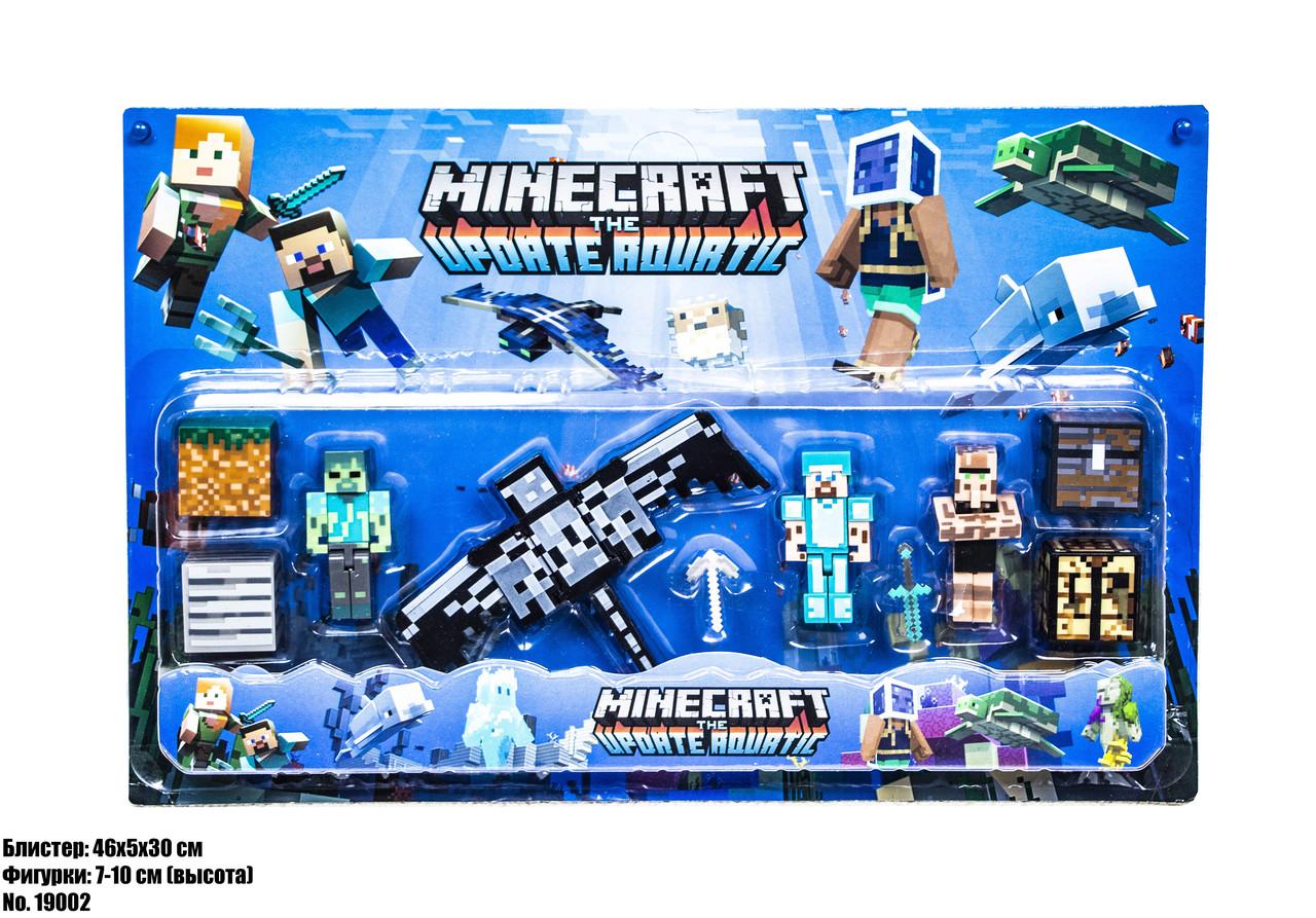 Minecraft фигурки блистер 19002