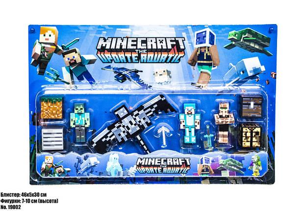 Minecraft фигурки блистер 19002, фото 2