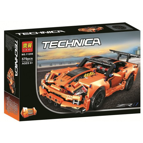 Конструктор Bela (Lari) «Technic» (11299) Chevrolet Corvette ZR1, 579 деталей