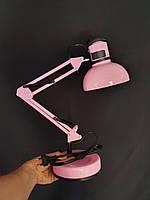 Настольная лампа розовая, фото 1