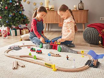 Железнодорожный набор PLAYTIVE® Германия 54 элемента