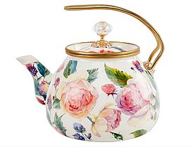 Чайник эмалированный с крышкой, Elmani, 3,2л