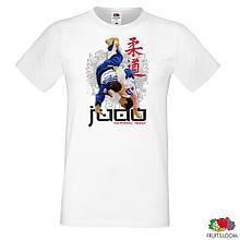 """Мужская футболка с принтом """"Judo"""" Push IT"""