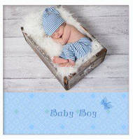 "Фотоальбом ""Baby blue"" 20sheet S22x3 [fot128518-TSI]"