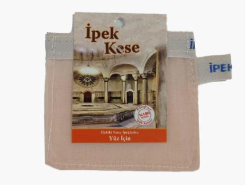 Кесе для особи IPEK (шовк) 8х8см для хамама - турецької лазні