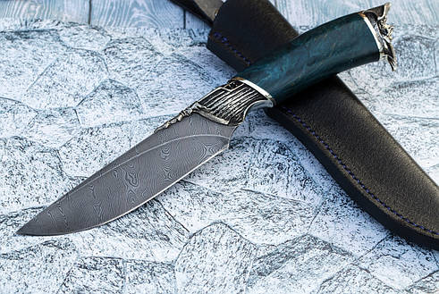 """Нож ручной работы из дамасской стали """"Корсар"""", фото 2"""