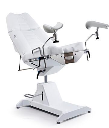 Гинекологическое и урологическое кресло с гидравлической регулировкой высоты Lemi Hydrogyno