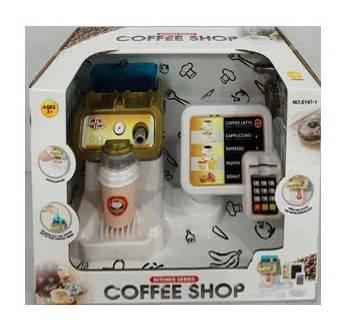 Магазин: кава-машина,касовий апарат,термінал,звук.,у кор-ці,31х24х18см №6147-1(12)