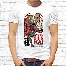 "Мужская футболка с принтом ""Kyokushinkai"" Push IT"