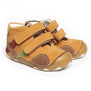 Шкіряні черевики-пінетки для хлопчика і дівчинки, ортопедичні, розміри 19, 20, 21, 22