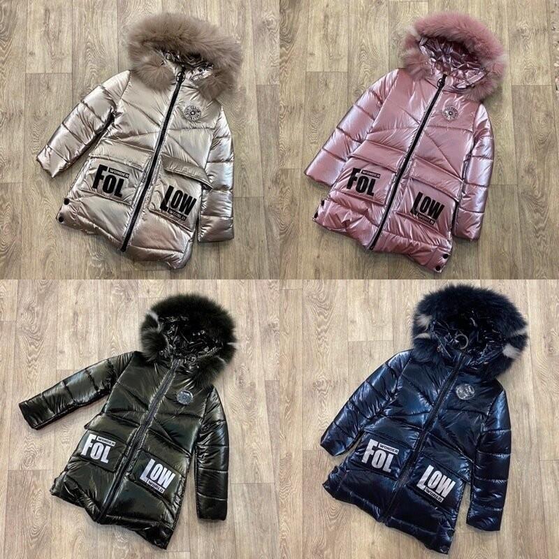 Топовая куртка для девочки , зимняя куртка, новинка