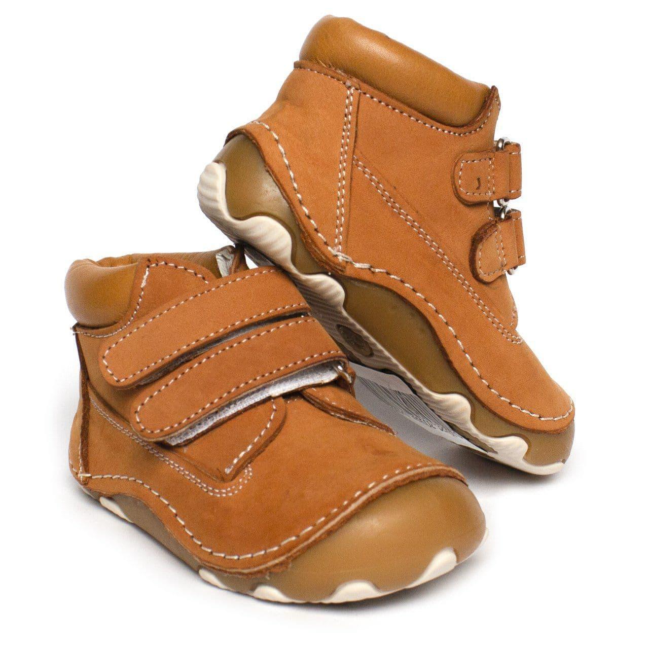 Кожаные ботинки-пинетки для мальчика и девочки, ортопедические, размеры 19, 20, 21, 22