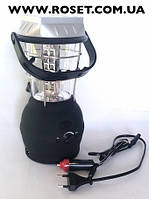 Кемпинговый фонарь на солнечной батарее Super Bright LED LaiTuo LT-768R с радиоприемником, фото 1