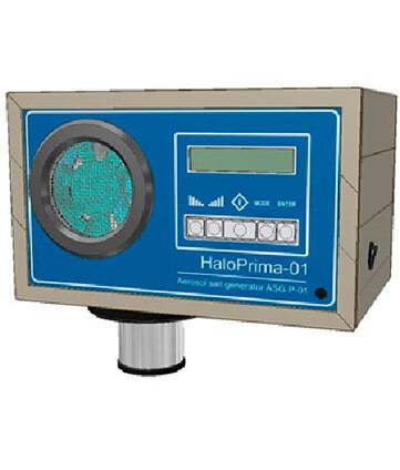 Оборудование для сухой солевой аэрозольтерапии Halomed HaloPrima-02