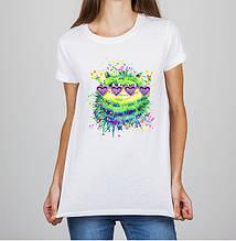 Женская футболка с принтом Чудик Push IT