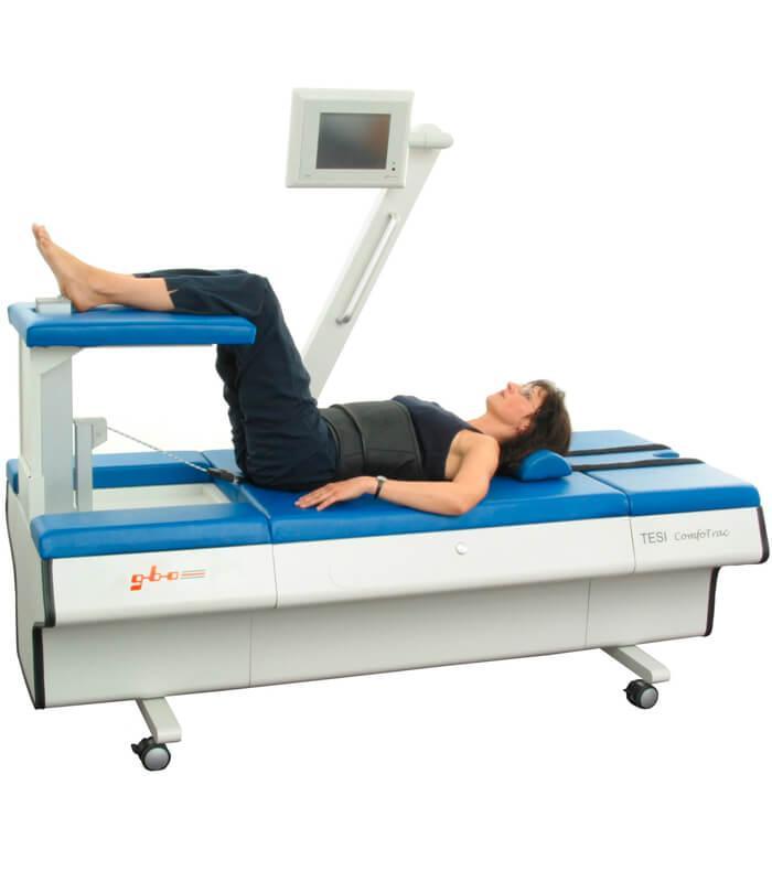 Стол для вытягивания мышц шеи и поясницы GBO TESI ComfoTrac