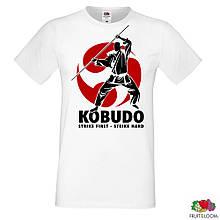 """Мужская футболка с принтом """"Kobudo"""" Push IT"""