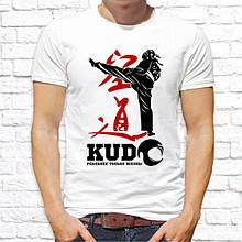 """Мужская футболка с принтом """"Kudo"""" Push IT"""