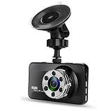 """Видеорегистратор T638 WDR Full HD с ночной сьёмкой, 1 камера 3"""" экран, фото 2"""