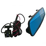 Зеркало-видеорегистратор DVR L900 full hd с выносной камерой заднего вида, фото 2