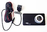 """Автомобильный регистратор DVR Z30 5"""" Full HD с выносной камерой заднего вида, фото 8"""