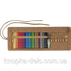 Акварельные карандаши Faber-Castell 117530 30 цв Albrecht Durer в тканевом пенале ролл, фото 2