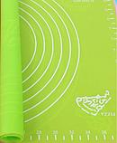Коврик силиконовый для раскатки теста кухонный Салатовый 30х40 см, фото 4