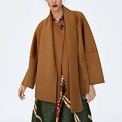 Пальто женское расклешенное Charm Berni Fashion (One Size)