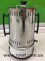 Электрошашлычница вертикальна Domotec MS-7782 BBQ 1000 Вт на 6 шампурів
