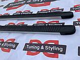 Боковые пороги Ford Ranger 2007-2011 Maya V1 (2 шт., алюминий), фото 9