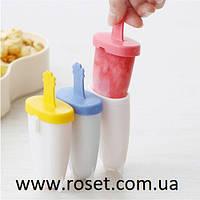 Формы для мороженого и фруктового льда 6 шт