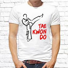 "Мужская футболка с принтом ""Tae Kwon Do"" Push IT"