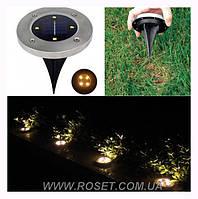 Вуличний світильник на сонячній батареї Solar Underground Light GB-104