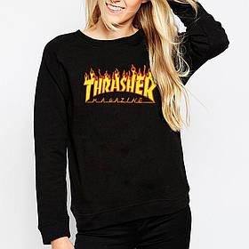 Thrasher свитшот женский | Фото реальные | Оригинальная бирка Трешер