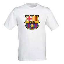 """Мужская футболка с футбольным принтом футбольного клуба """"Barselona"""" Push IT"""