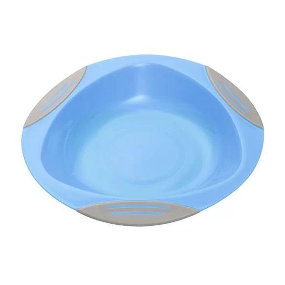 Тарелка на присоске BabyOno, голубой (1062/02)