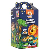 Настольная игра Vladi Toys Веселая семейка (укр) (VT8033-05)