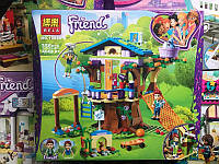 Конструктор Friend (Bela 10854) Домик Мии на дереве (Аналог Lego Friends 41335) 356 деталей 2 фигурки