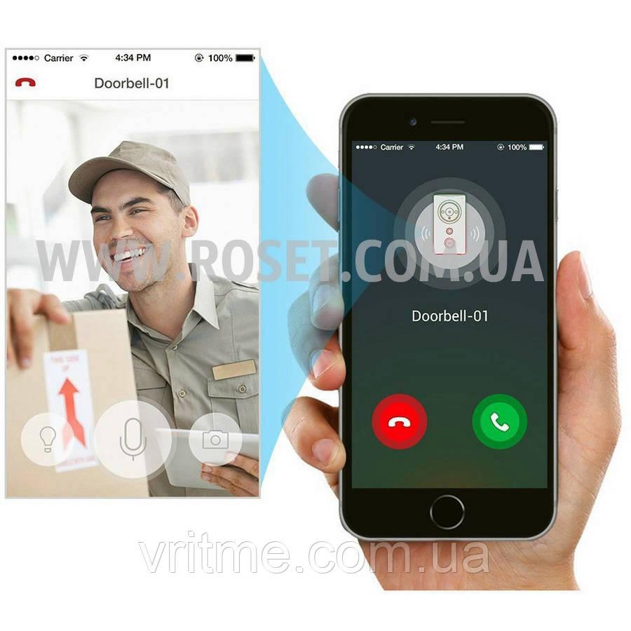 Дверной видеозвонок - Wi-Fi Smart Doorbell (видеодомофон)