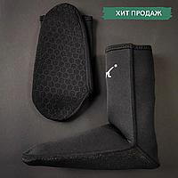 Носки неопреновые для дайвинга Гидроноски 3 мм DOLVOR Черный (DVG6203) L (39-42)