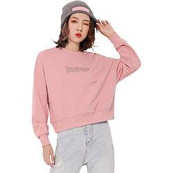 Свитшот женский Entourage, розовый Berni Fashion (M)